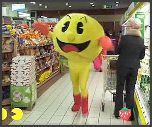 Real Life Pac Man
