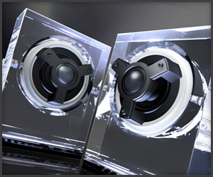 Odelic Glass Speakers