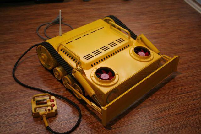 Bulldozer Case Mod