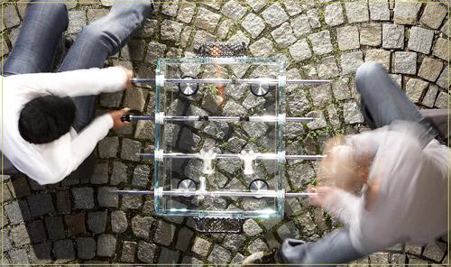 Glass Foosball Tables