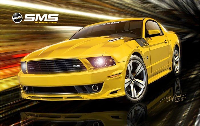 SMS 460/460X Mustang
