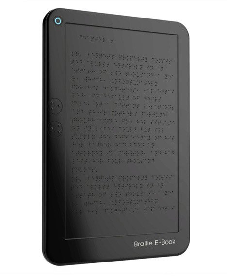 Concept: Braille E-Book
