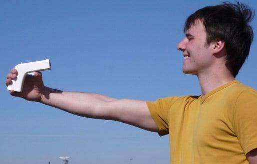 Pinhole Camera Gun