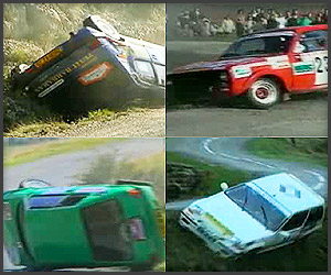 WRC Rally Crashes