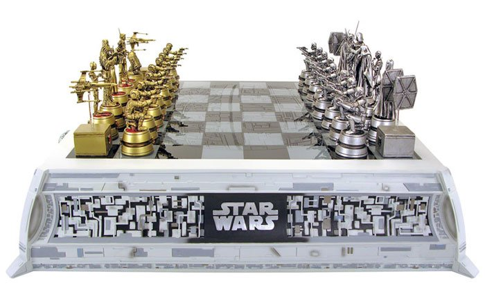 Star Wars Chess Set The Awesomer