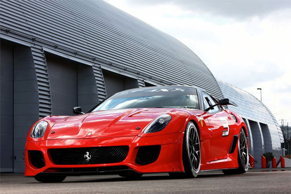 Concept: Ferrari 599XX