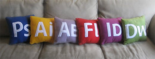 Adobe App Pillows
