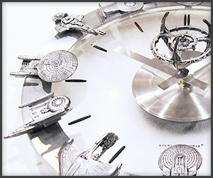 Star Trek Clock