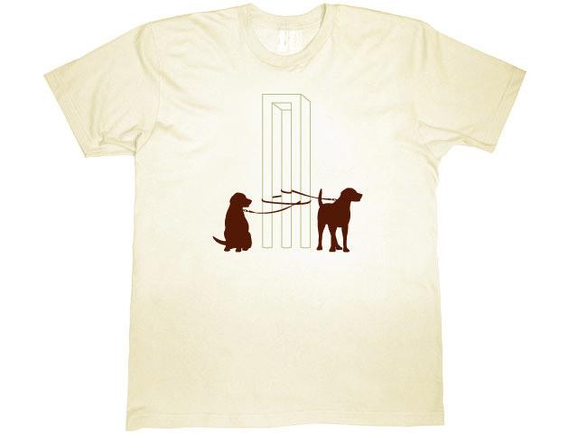 Escher's Dogs T-shirt