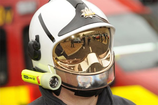 Gallet Firefighter Helmet