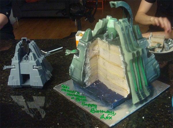 Necron Monolith Cake