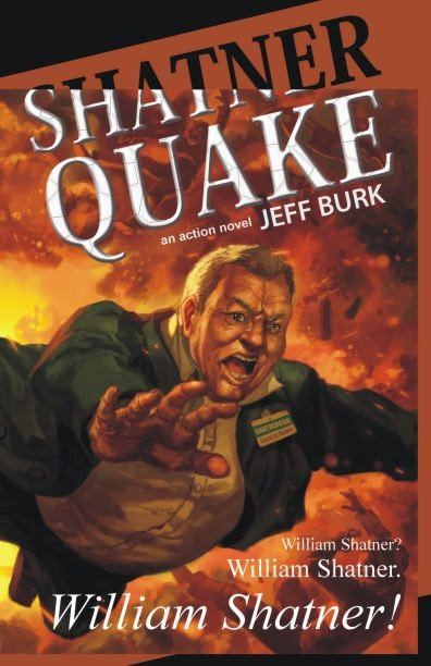 Shatner Quake: A Horrible Book Cover
