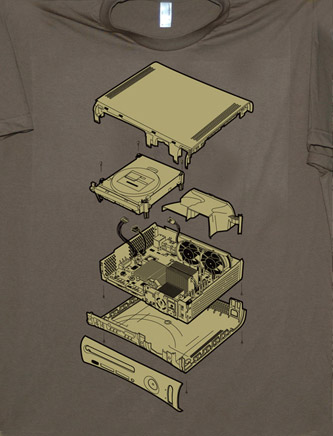 Exploded 360 T-shirt