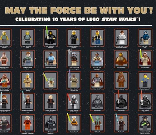 LEGO x Star Wars Poster