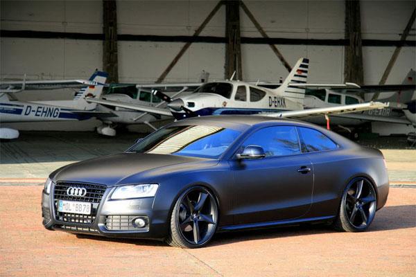 Matte Black Audi A5