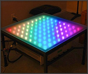 DIY: RGB Coffee Table