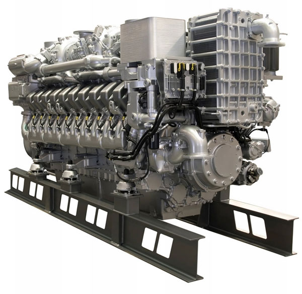 MTU 4000HP Engine