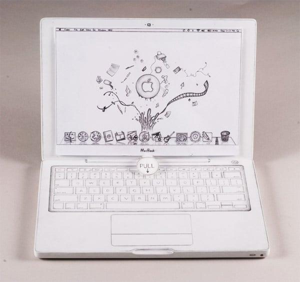 Wooden MacBook