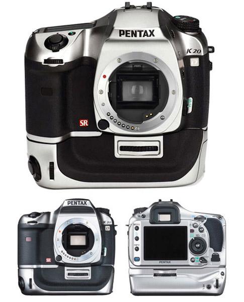 Titanium Pentax K20D