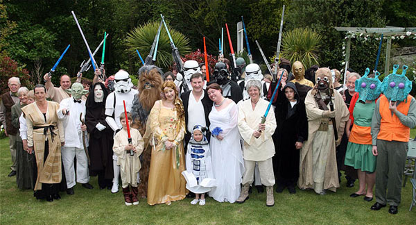 5/4 Star Wars Wedding