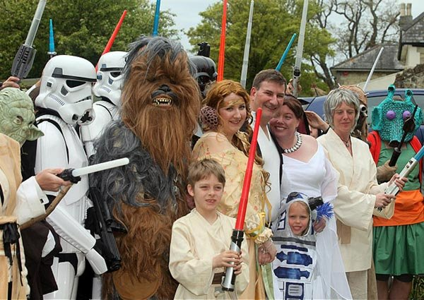 5/4 Star Wars Wedding