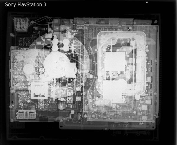 X-rayed Consoles