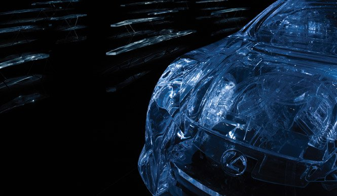 Acrylic Lexus LF-A