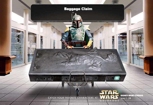 Star Wars x Disney Ads