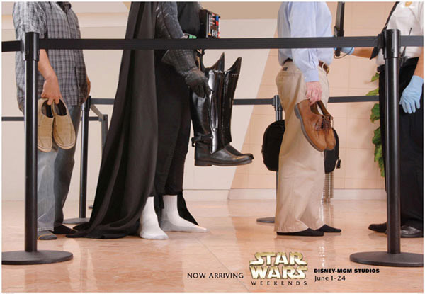 Star Wars x Disney Ads