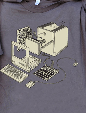 Exploded 128 T-shirt