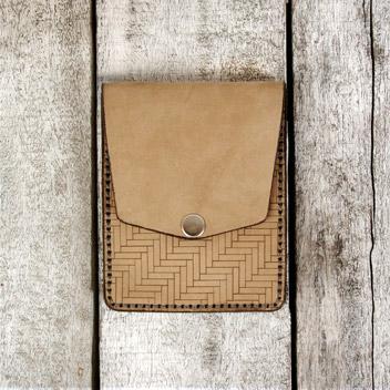 Herringbone Vert. Pocket