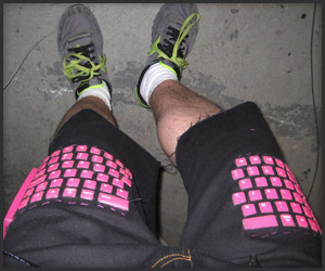 DIY: Keyboard Pants