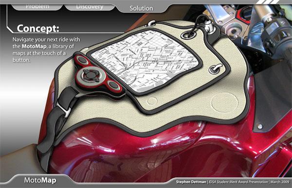 Concept: MotoMap GPS