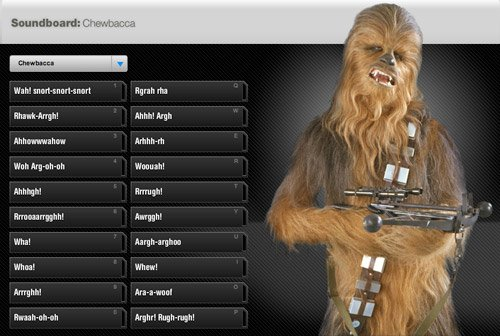 Star Wars Soundboards