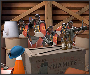 TF2/Smash Bros Mashup