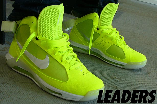 Bright Yellow Nike Tennis Shoes