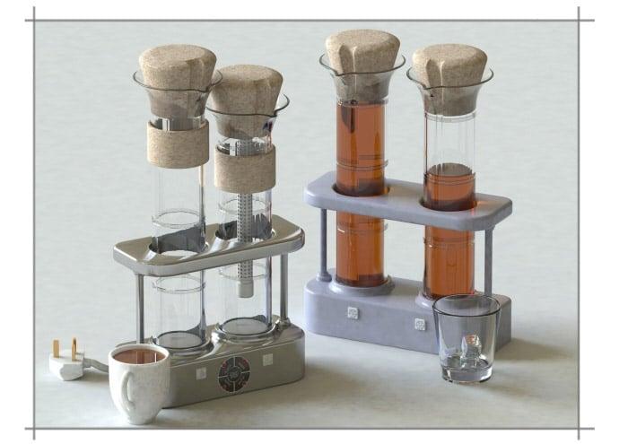Concept: Tea Kettle
