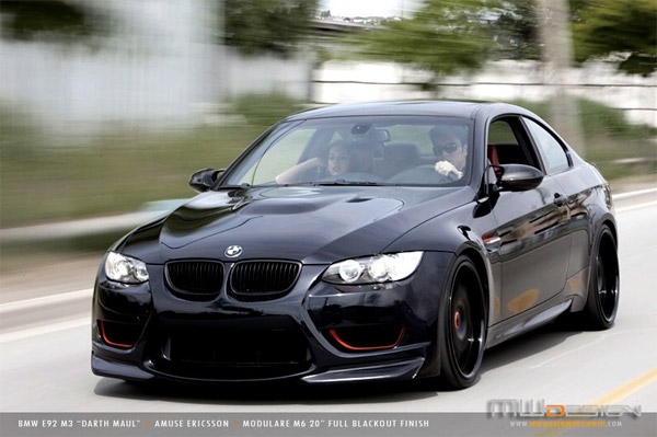 BMW M3 Darth Maul