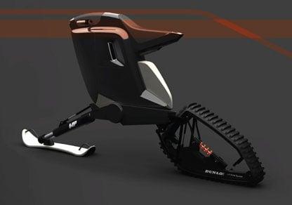 Concept: Kvant Motorbike