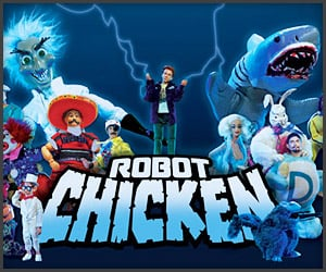 Robot Chicken x Spore