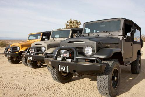 Icon Custom Landcruisers