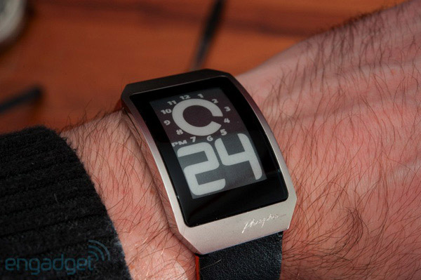 Phosphor E-Ink Watches