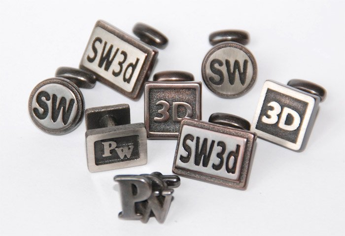 Shapeways Custom Cufflinks