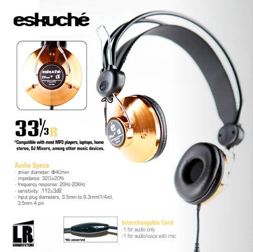 Eskuché 33 1/3 Headphones