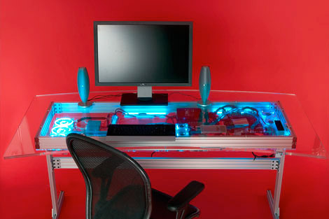 Liquid Cooled Desk Mod