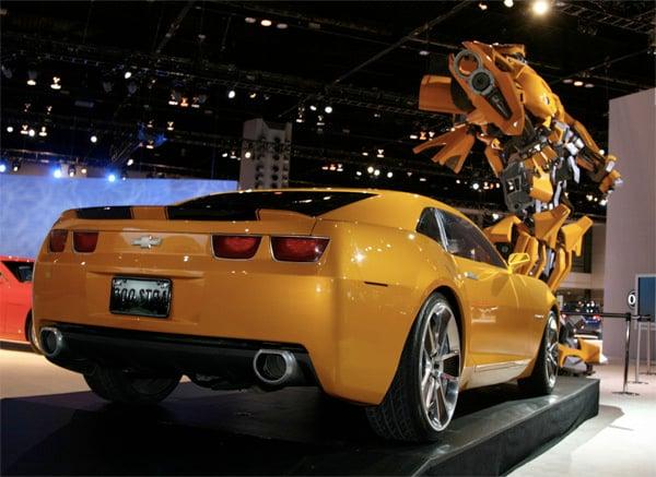 Bumblebee Chevy Camaro