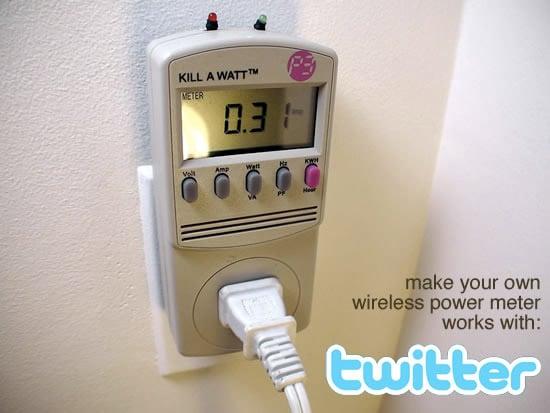 DIY: Tweet-A-Watt
