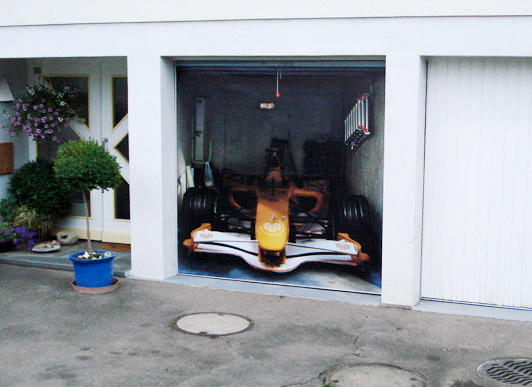 style your garage the awesomer. Black Bedroom Furniture Sets. Home Design Ideas