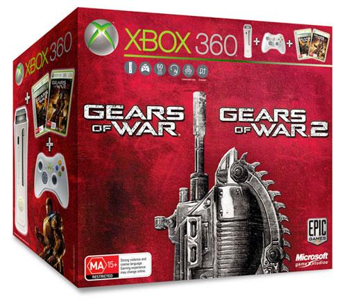 Xbox 360: GoW 1 + 2