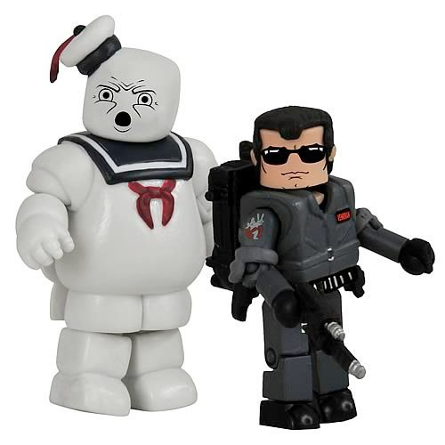 Venkman/Stay Puft Figs